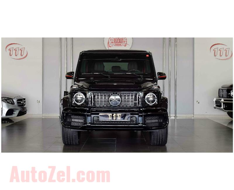 NEW MERCEDES-BENZ G63 AMG V8 BITURBO- BLACK EDITION- 2019- BLACK- GCC SPECS