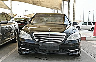 MERCEDES S550 MODEL 2010 - BLACK - 185,000 KM - V8 - CAR...