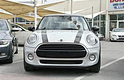 MINI COOPER MODEL 2017 - SILVER - 30,000 KM - V4 - CAR...