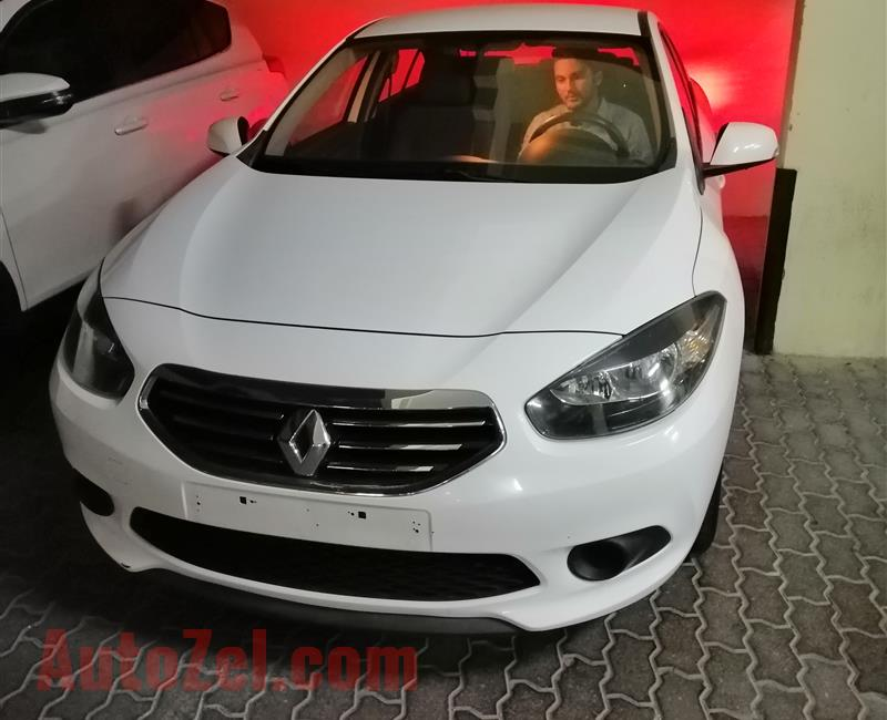 Family Used Renault Fluence with Low KMS-AED 14000