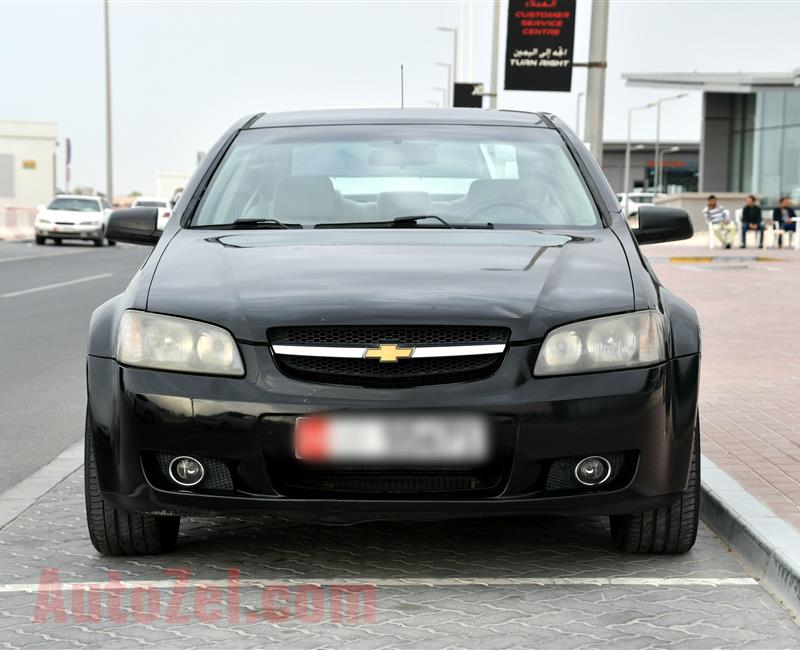 CHEVROLET LUMINA- 2009- BLACK- 145 000 KM- GCC
