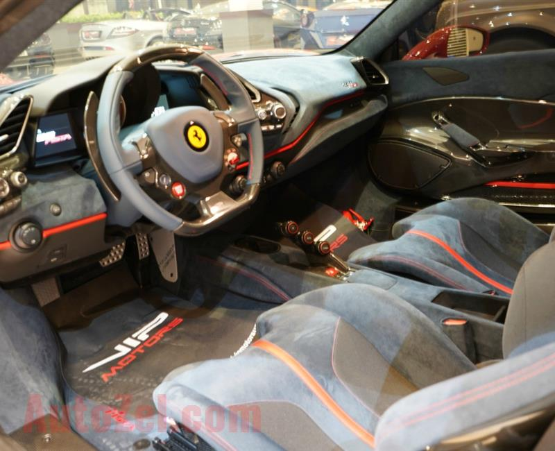 BRAND NEW FERRARI 488 PISTA- 2019- GCC- 1000 KM- FULL CARBON IN – OUT- GCC