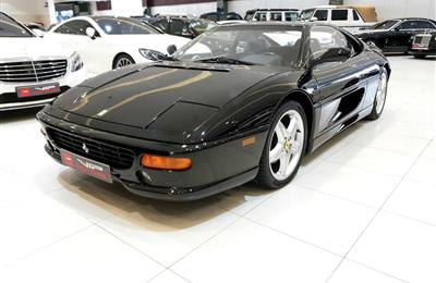 FERRARI F355 BERLINETTA- 1996- BLACK- 17 000 KM- FULL...