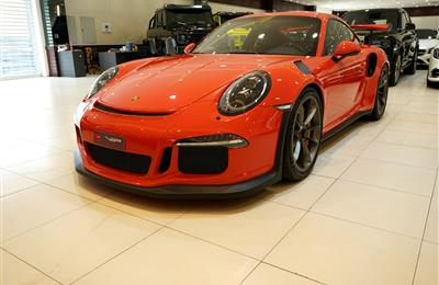 PORSCHE CARRERA 911 GT3 RS- 2016- ORANGE- 2 900 KM- GCC