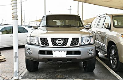 NISSAN PATROL SAFARI MODEL 2017 - GOLD - 72,000 KM - V6 -...
