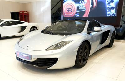 MCLAREN MP4-12C SPIDER- 2013- SILVER- 8 000 KM- GCC-...