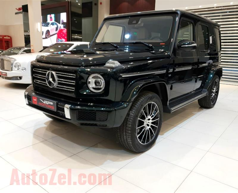 MERCEDES-BENZ G500- 2019- BLACK- GCC-, FUL OPTIONS, 2 YEARS DEALER WARRANTY