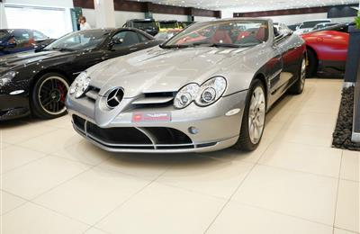 MERCEDES-BENZ SLR ROADSTER- 2008- GREY- 9 000 KM- EUROPEAN...