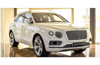 Bentley Bentayga First Edition V12 - AED 759,000