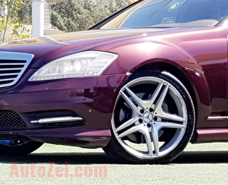 Single Owner.GCC..Mercedes-Benz S500 AMG///FULL SERVICE HISTORY.