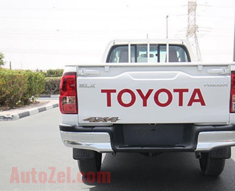 Toyota Hilux Single Cab 2018 gcc