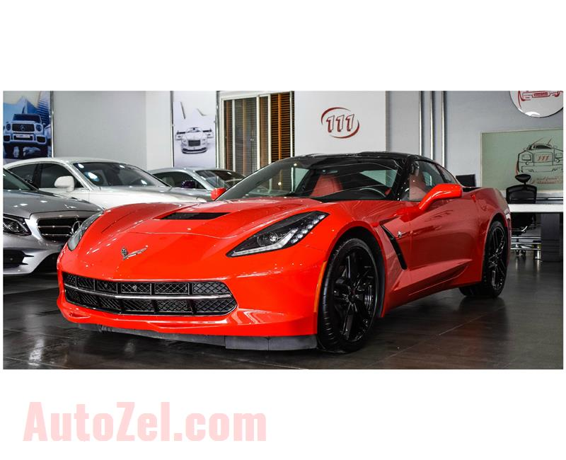 CHEVROLET STINGRAY 6.2L- SPEED MANUAL TRANSMISSION- 2019- IMPORT SPECS- 10 000 KM