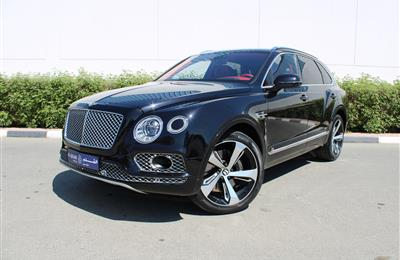 BENTLEY BENTAYGA, V8- 2017- BLACK- 27 000 KM- EUROPEAN...