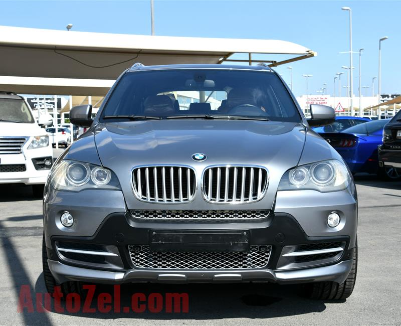BMW X5, V8- 2009- GREY- 195 000 KM- GCC