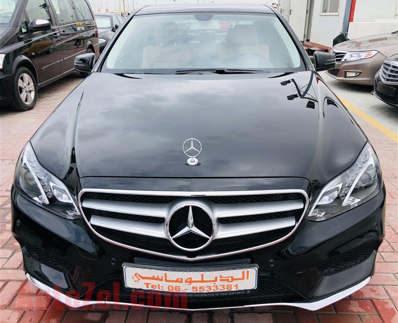 Mercedes E200 2016 very good condition warranty