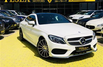 COUPE / C200 ///AMG / 2017 / DEALER WARRANTY / FREE...