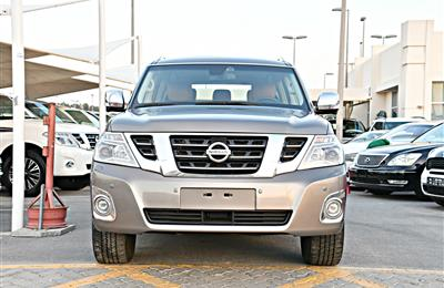 NISSAN PATROL PLATINUM MODEL 2015 - BROWN - 85,000 KM - V8...