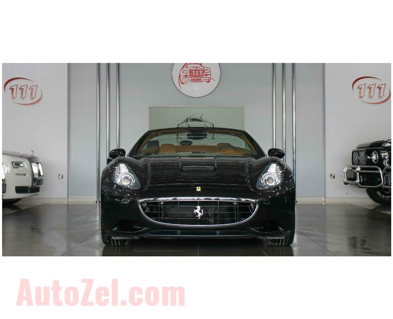 FERRARI CALIFORNIA- 2010- BLACK- 16 000 KM- IMPORT SPECS