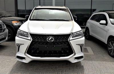 LEXUS LX570 S MODEL 2019 - WHITE - ZERO KM - V8 - GCC