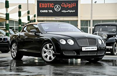 Bentley Continental GTC - AED 139,900
