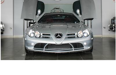 MERCEDES-BENZ SLR MCLAREN ROADSTER- 2008- GREY/SILVER- 45...