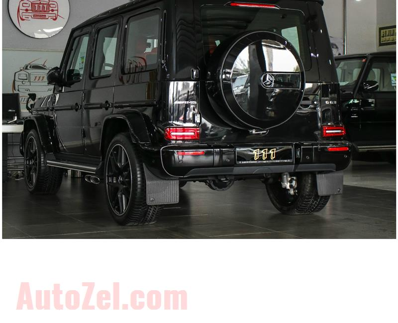 BRAND NEW MERCDES-BENZ G63 AMG BITURBO- 2019- BLACK- 0 KM- GCC SPECS