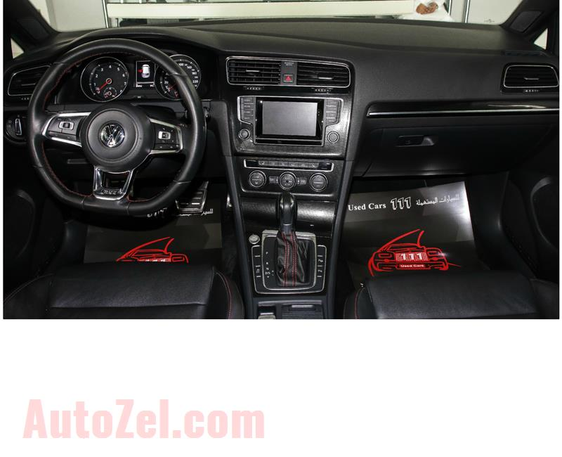 VOLKSWAGEN GOLF GTI - 2014- BLACK- 89 000 KM- GCC