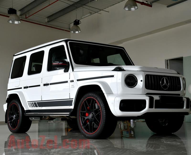 MERCEDES-BENZ G63- 2019- WHITE- 4 000 KM- GCC