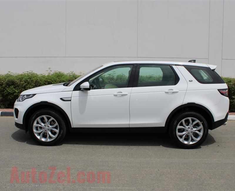 LAND ROVER DISCOVERY- 2019- WHITE- GCC SPECS