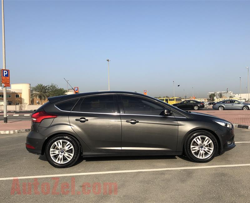 Ford Focus - Titanium MY2015 - Low Mileage - Service Contract + Warranty Till August 8/2020