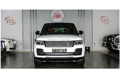RANGE ROVER VOGUE SE SUPERCHARGED- 2018- WHITE- 1 400 KM...