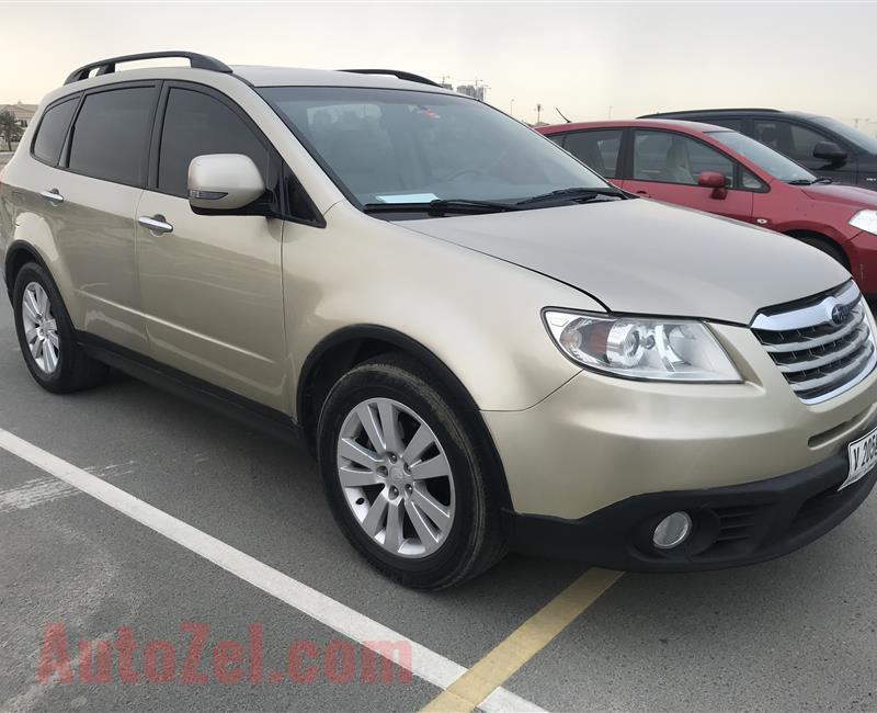 Subaru Tribeca very low mileage Full option GCC