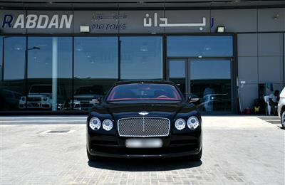 BENTLEY- 2016- BLACK- 50 000 KM- GCC