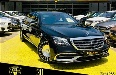 //GCC/// MAYBACH / S650 / V12 / 6.5L / 2018 / 5 YEARS...