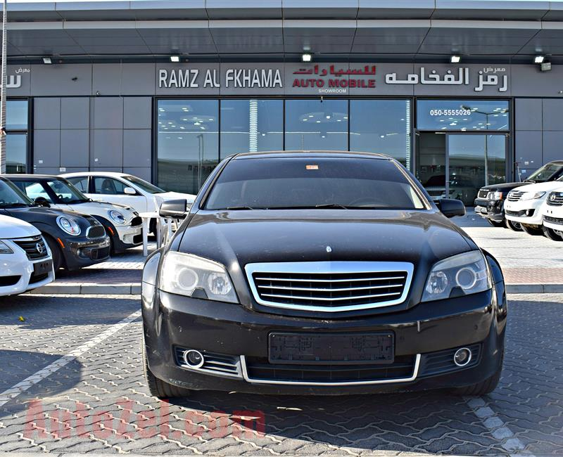 chevrolet caprice model 2009 - black - 260,000 km - v8 - gcc