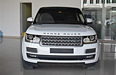 RANGE ROVER AUTOBIOGRAPHY MODEL 2014 - white  - 99000 KM -...