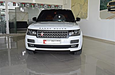 RANGE ROVER VOGUE HSE MODEL 2016 - WHITE - 103,000 KM - V8...