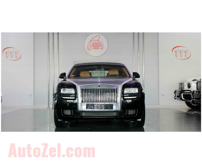 ROLLS ROYCE GHOST- 2012- BLACK- 17 000 KM- GCC SPECS