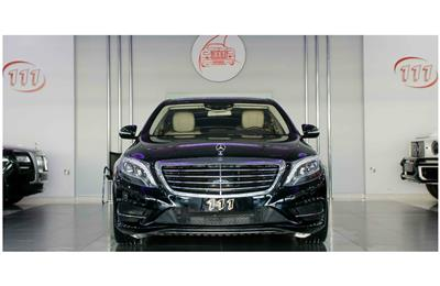 MERCEDES-BENZ S500- 2014- BLACK- 35 000 KM- GCC SPECS