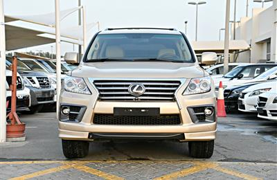 LEXUS LX570 SPORT MODEL 2010 - GOLD - 190,000 KM - V8 -...