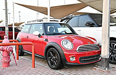 MINI COOPER MODEL 2013 - RED - 170,000 KM - V4 - GCC