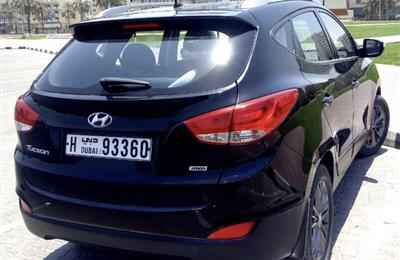 Hyundai Tucson black, 76500km, 2015 Model