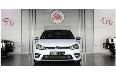 VOLKSWAGEN GOLF R- 2016- WHITE- 95700
