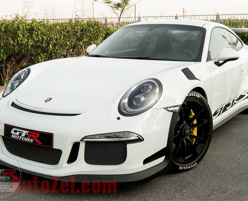 PORSCHE 911 GT3 RS | 2016 | GCC | BRAND NEW