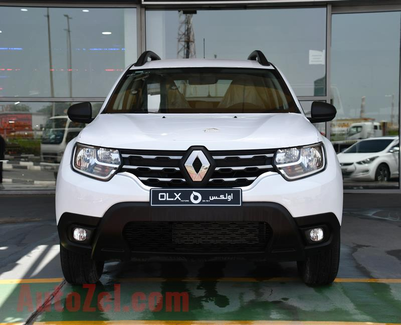 NEW RENAULT DUSTER- 2019- WHITE- GCC SPECS