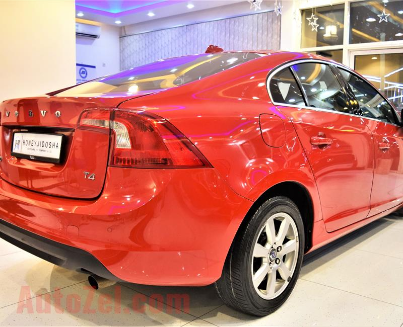 AMAZING!!!! Volvo S60 T4 2012Model Gcc specs