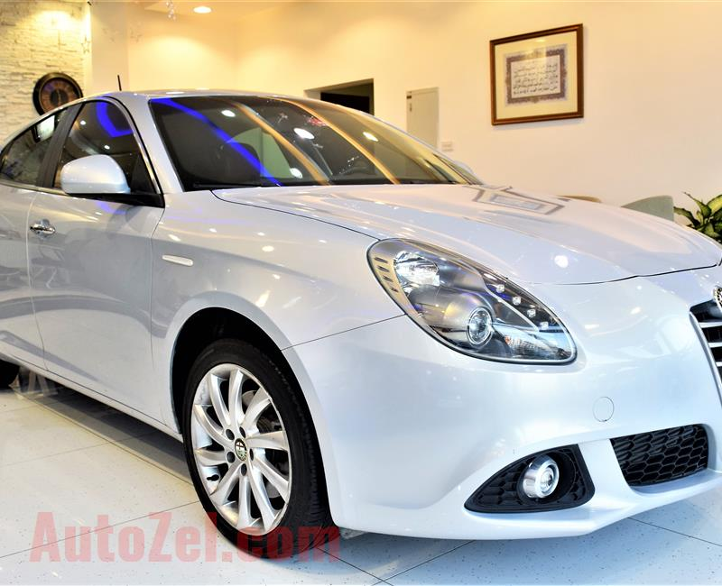 29000 KM ONLY !!! Alpha Romeo Giulietta 2015 Model GCC Specs