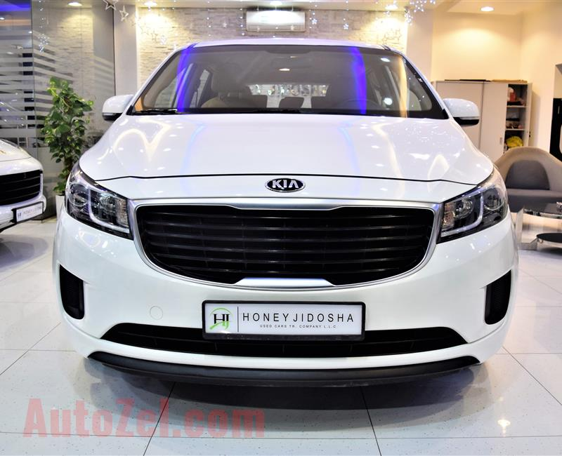 Great Deal Offer Very Low Kilometer KIA Grand Carnival 2016 Model GCC Specs