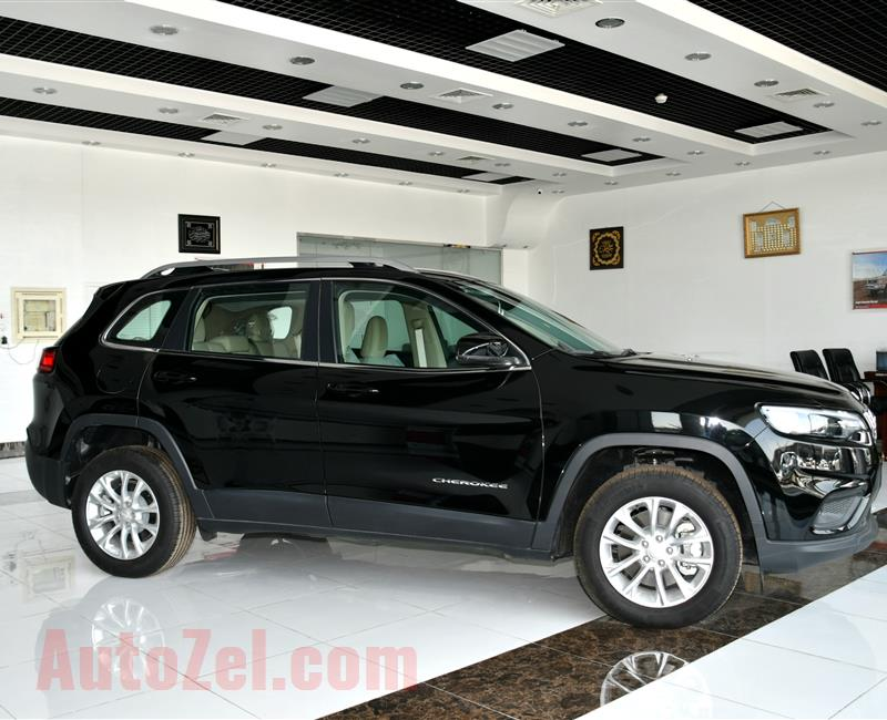 BRAND NEW JEEP CHEROKEE- 2019- BLACK- GCC