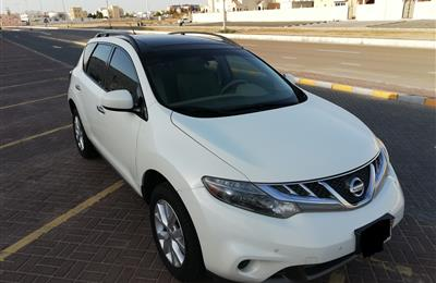 NISSAN MURANO 2013 GCC FULL OPTIONS